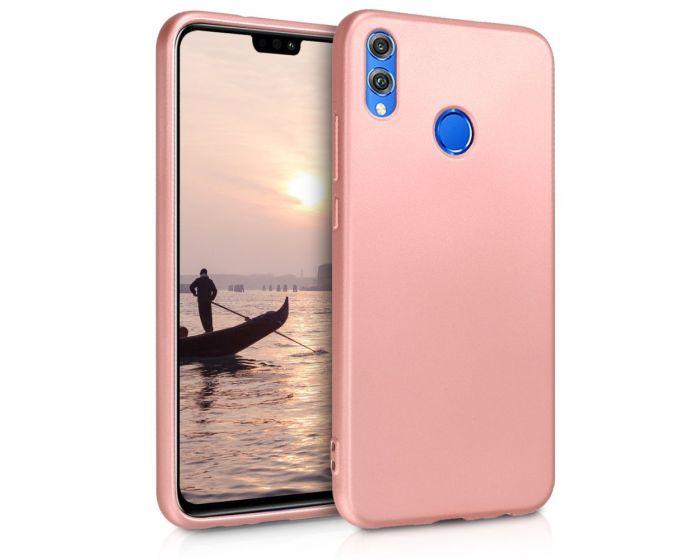 KWmobile TPU Silicone Case (46348.31) Metallic Rose Gold (Huawei Honor 8X)