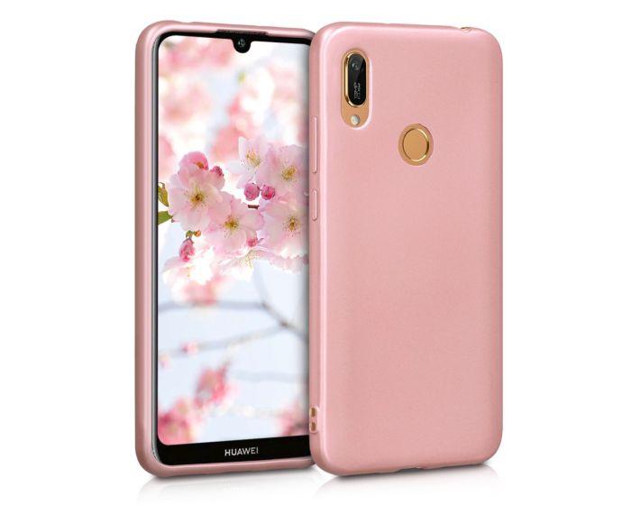 KWmobile TPU Silicone Case (48123.31) Metallic Rose Gold (Huawei Y6 2019 / Honor 8A)