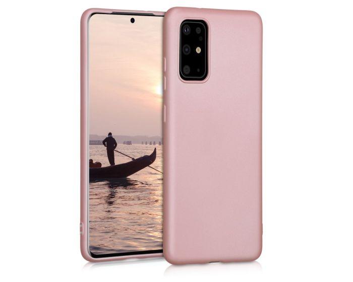 KWmobile TPU Silicone Case (51220.31) Metallic Rose Gold (Samsung Galaxy S20 Plus)