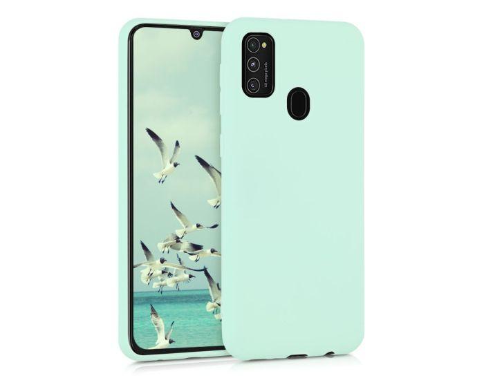 KWmobile TPU Silicone Case (52198.50) Mint Matte (Samsung Galaxy M21 / M30s)