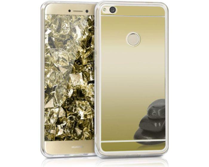 KWmobile Mirror Slim Fit Gel Case (40902.21) Θήκη Σιλικόνης Gold (Huawei P8 Lite 2017 / P9 Lite 2017 / Honor 8 Lite)