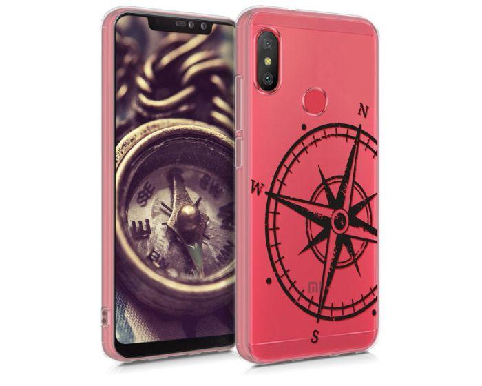 KWmobile Θήκη Σιλικόνης Slim Fit Silicone Case (46874.01) Navigational Compass (Xiaomi Redmi Note 6 Pro)