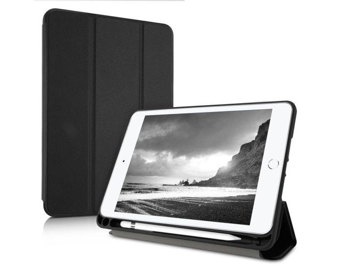 KWmobile Premium Slim Smart Cover Case with Pen Holder (48047.01) με δυνατότητα Stand - Black (iPad mini 5 2019)