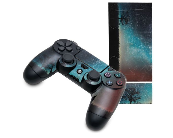 KWmobile PS4 Controller Sticker (48261.04) Cosmic Nature (PlayStation 4)