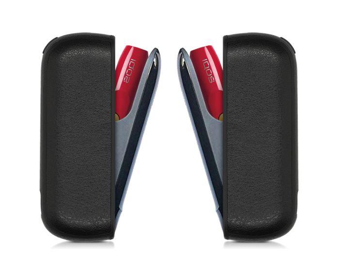 KWmobile PU Leather Protective Cover Case (47196.01) Θήκη Αποθήκευσης και Μεταφοράς για το IQOS 3 Pocket Charger - Black