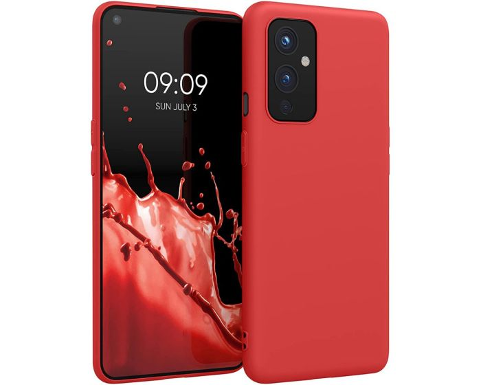 KWmobile TPU Silicone Case (54426.09) Red (OnePlus 9)