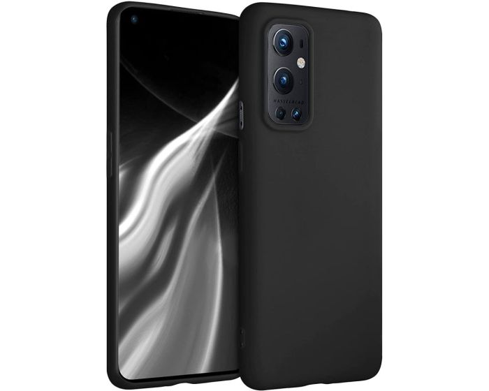 KWmobile TPU Silicone Case (54427.47) Black Matte (OnePlus 9 Pro)