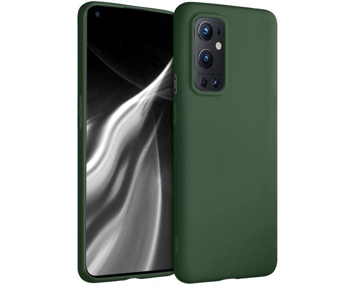 KWmobile TPU Silicone Case (54427.80) Dark Green (OnePlus 9 Pro)