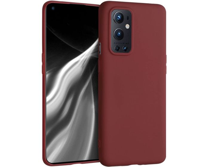KWmobile TPU Silicone Case (54427.09) Red (OnePlus 9 Pro)