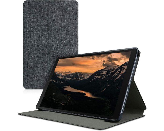 KWmobile Slim Book Style Stand Case (53183.01) Dark Grey (Samsung Galaxy Tab A 10.1 2019)