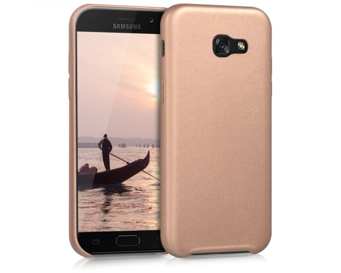 KWmobile Soft Case Leather Design Μαλακή Θήκη (40719.81) Rose Gold (Samsung Galaxy A5 2017)