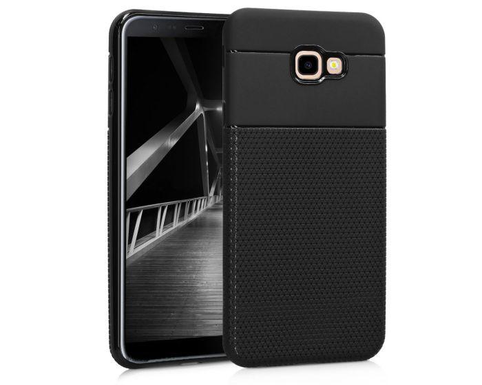 KWmobile Soft Flexible Shock Absorbent Case (46595.01) Black (Samsung Galaxy J4 Plus 2018)