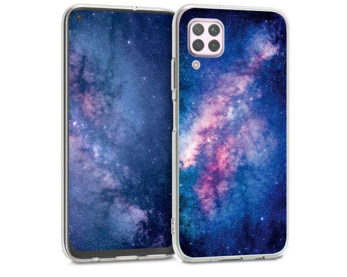 KWmobile Slim Fit Gel Case Starry Galaxy (51990.05) Θήκη Σιλικόνης  Ροζ / Μπλε (Huawei P40 Lite)