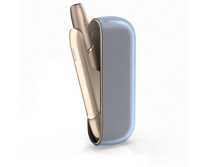 KWmobile TPU Protective Cover Case (47195.04) Θήκη Σιλικόνης για Αποθήκευση και Μεταφορά του IQOS 3 Pocket Charger - Clear Blue