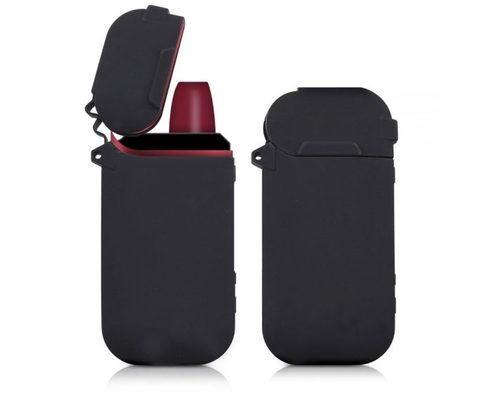 KWmobile TPU Protective Cover Case (42592.01) Θήκη Σιλικόνης για Αποθήκευση και Μεταφορά του IQOS Pocket Charger - Black