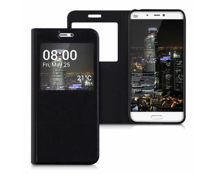 KWmobile S View Flip Case (38211.01) Μαύρο (Xiaomi Mi5)