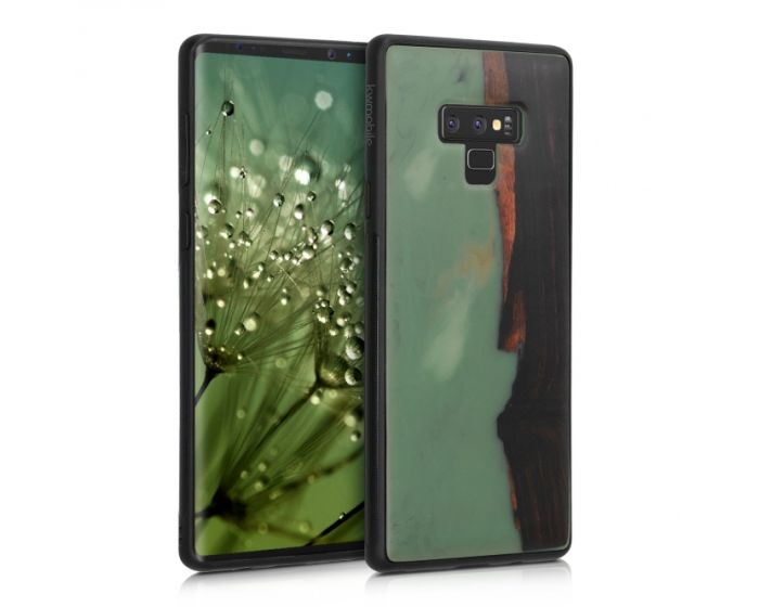 KWmobile Wooden Resin Case (48896.01) Ξύλινη Θήκη (Samsung Galaxy Note 9)