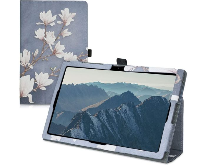 KWmobile Premium Slim Cover Case (53387.03) με δυνατότητα Stand - Magnolia (Samsung Galaxy Tab A7 10.4)