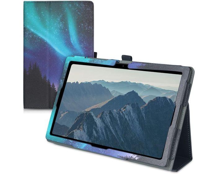 KWmobile Premium Slim Cover Case (53387.02) με δυνατότητα Stand - Polar Light Stag (Samsung Galaxy Tab A7 10.4)