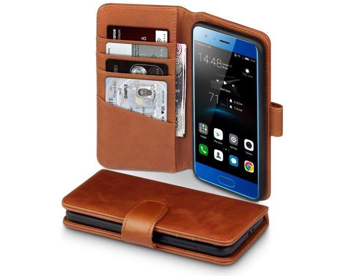 Terrapin Δερμάτινη Θήκη Πορτοφόλι Wallet Case (117-083-153) Καφέ (Huawei Honor 9)