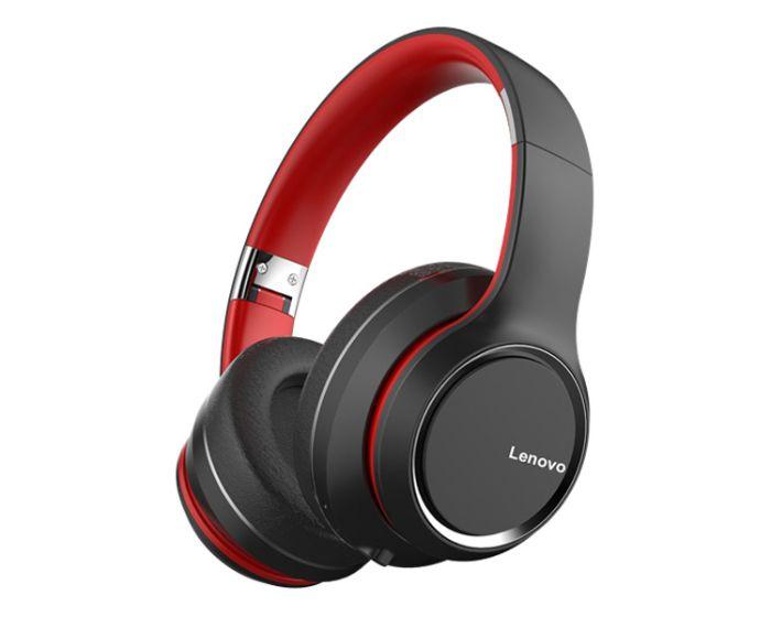 Lenovo HD200 Wireless Bluetooth Headphones Ασύρματα Ακουστικά - Black