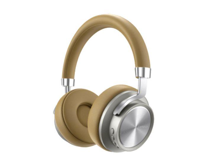 Lenovo HD800 Wireless Bluetooth Headphones  Ασύρματα Ακουστικά - Gold
