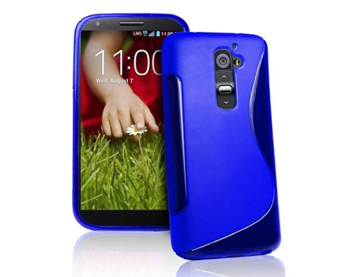 Θήκη Σιλικόνης S Line Silicone Μπλε OEM (LG G Pro 2)