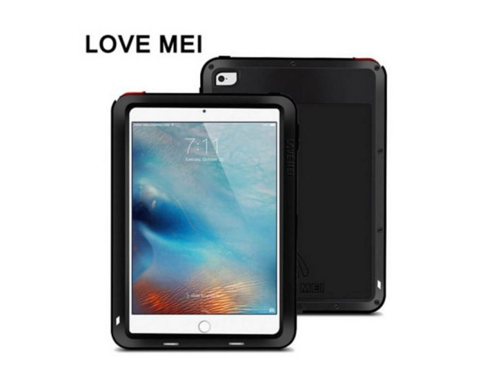 "LOVE MEI Powerful Extreme Case Gorilla Glass Black (iPad Pro 9.7"")"