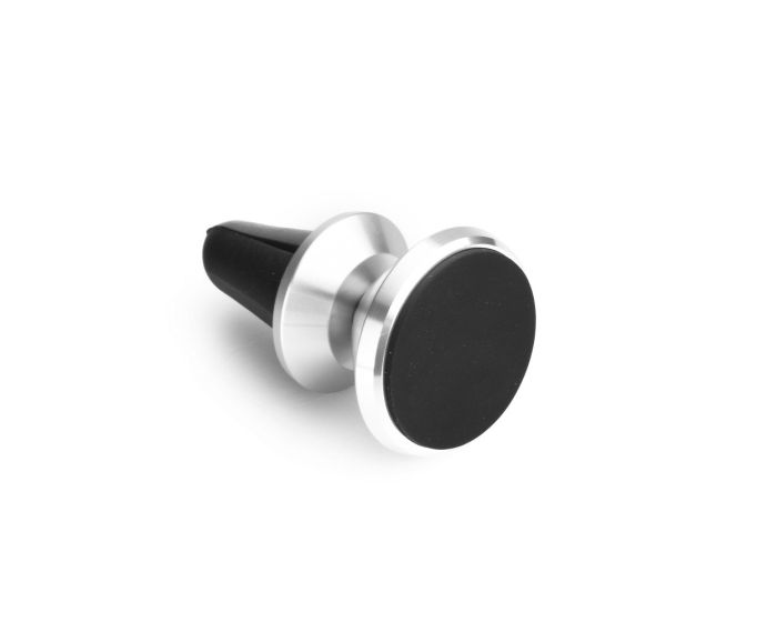 Magnetic Car Holder to air vent Silver