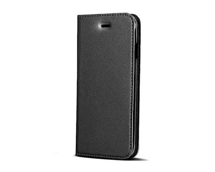 Smart Premium Wallet Case Θήκη Book με Stand - Black (Huawei Y5 2018 / Y5 Prime 2018)