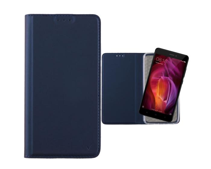 Magnet Book Stand Case - Dark Blue (Nokia 7)