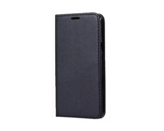 Forcell Magnet Wallet Case Θήκη Πορτοφόλι με δυνατότητα Stand Black (Huawei Y6 Prime 2018)