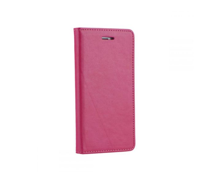 Forcell Magnet Wallet Case Θήκη Πορτοφόλι με δυνατότητα Stand Pink (Huawei Ascend P8)