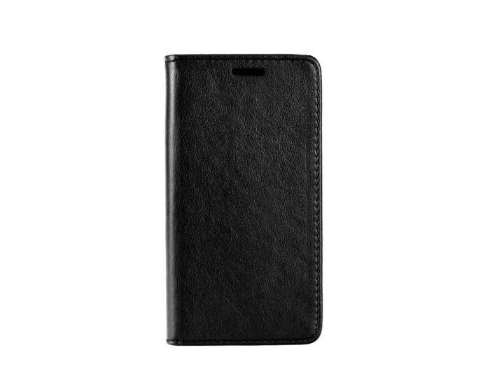 Forcell Magnet Wallet Case Θήκη Πορτοφόλι με δυνατότητα Stand Black (HTC 10)
