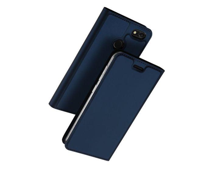 DUX DUCIS SkinPro Wallet Case με Stand - Navy Blue (Huawei P9 Lite Mini)