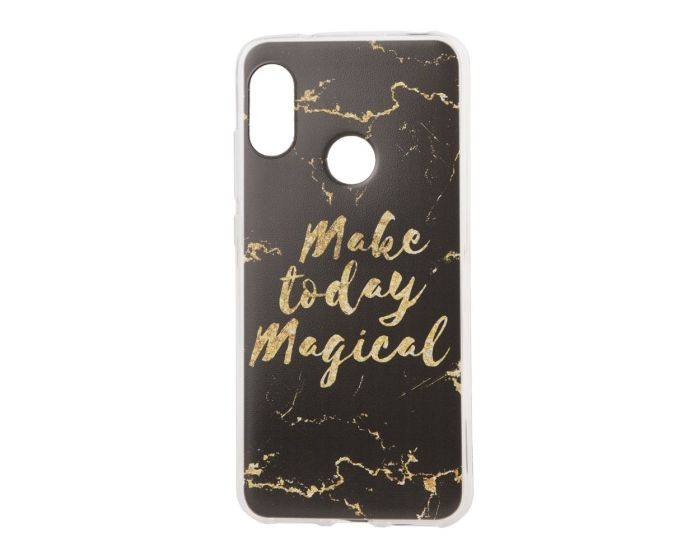 Marble Art Gel Case Magical Θήκη Σιλικόνης Black (Xiaomi Mi A2 Lite / Redmi 6 Pro)