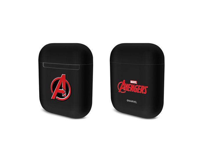 Marvel Durable Case Θήκη για Apple AirPods - Avengers 001 Black