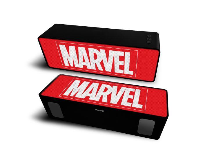 Marvel Bluetooth Wireless 2.1 Speaker 10W Ασύρματο Ηχείο - Marvel 001 Red
