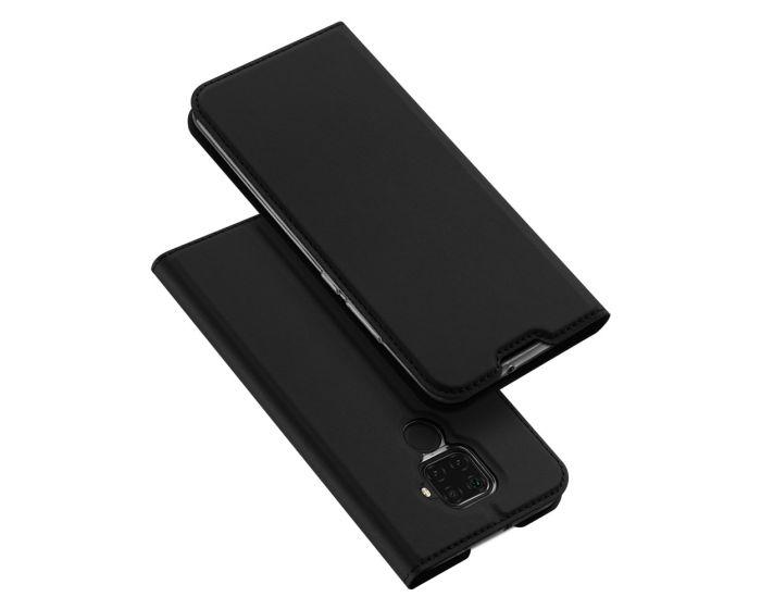 DUX DUCIS SkinPro Wallet Case Θήκη Πορτοφόλι με Stand - Black (Huawei Mate 30 Lite)