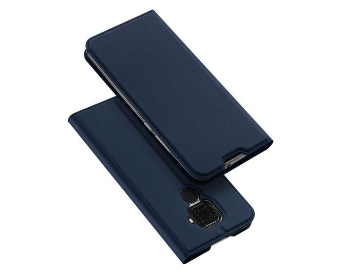 DUX DUCIS SkinPro Wallet Case Θήκη Πορτοφόλι με Stand - Navy Blue (Huawei Mate 30 Lite)