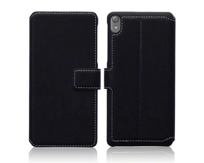 Terrapin Θήκη Πορτοφόλι Stand Case (117-005-417) Μαύρο (Sony Xperia E5)
