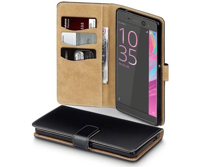 Terrapin Θήκη Πορτοφόλι Wallet Case (117-005-414) Μαύρο (Sony Xperia XA Ultra)