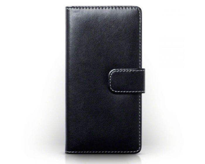 Terrapin Θήκη Πορτοφόλι Wallet Case (117-005-448) Μαύρο (Sony Xperia E5)