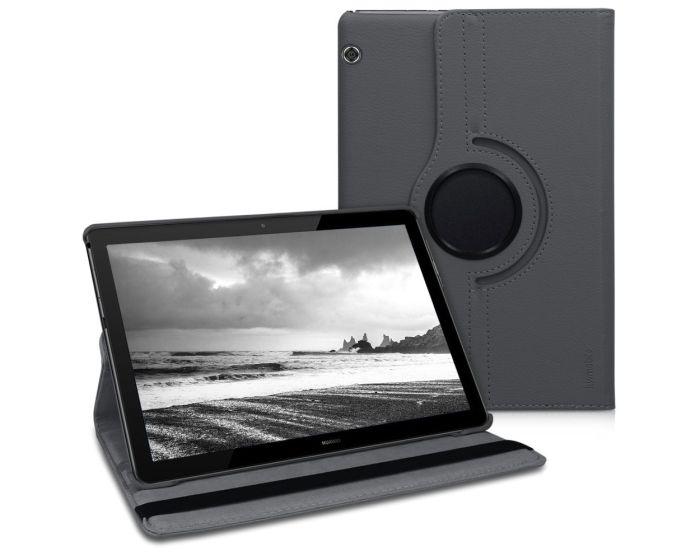 KWmobile Περιστρεφόμενη 360 μοίρες Θήκη Case Stand (46110.22) Γκρι (Huawei MediaPad T5 10.1'')