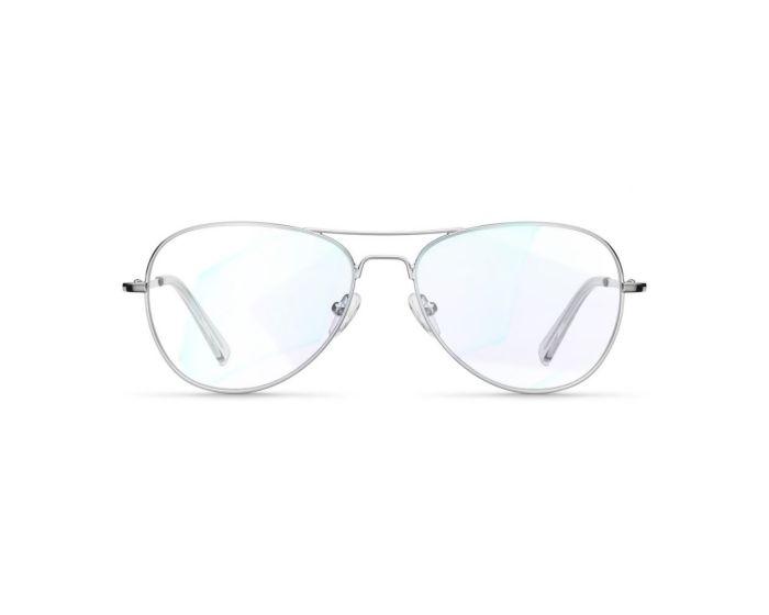 Meller Ashia Glasses Γυαλιά με φίλτρο Anti-Blue Light - Silver