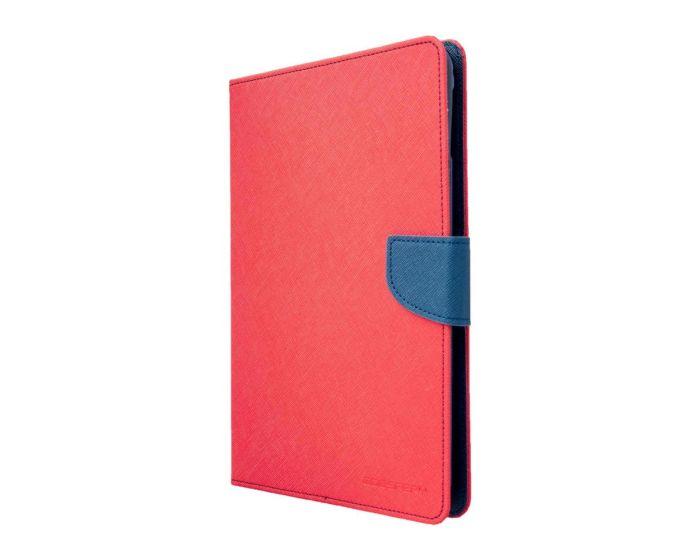 Mercury Fancy Diary Case Θήκη Πορτοφόλι με δυνατότητα Stand Red / Navy (Samsung Galaxy Tab S2 8.0)