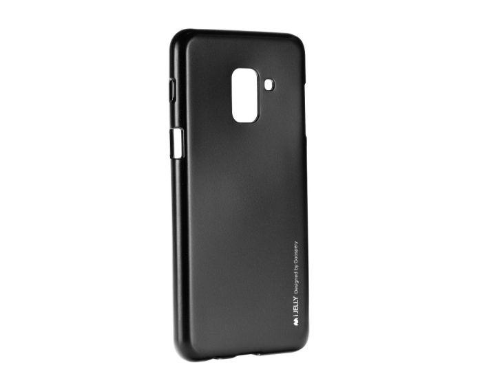 Mercury i-Jelly Slim Fit Case Θήκη Σιλικόνης Black (Samsung Galaxy A8 Plus 2018)
