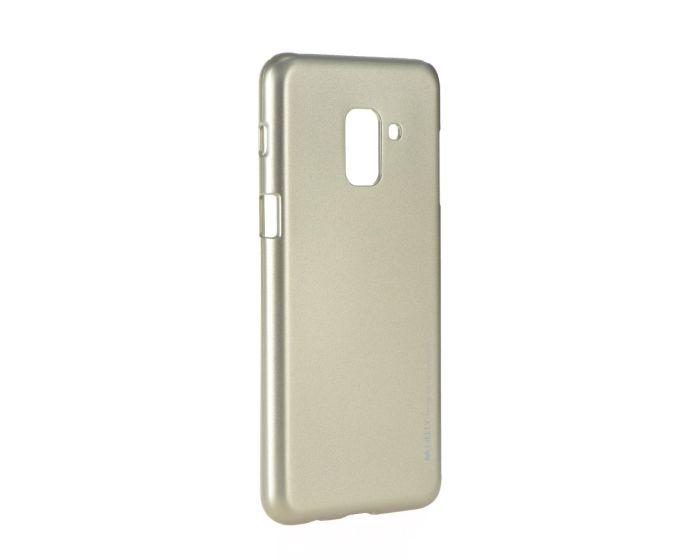 Mercury i-Jelly Slim Fit Case Θήκη Σιλικόνης Gold (Samsung Galaxy A8 Plus 2018)