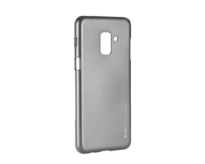 Mercury i-Jelly Slim Fit Case Θήκη Σιλικόνης Grey (Samsung Galaxy A8 Plus 2018)