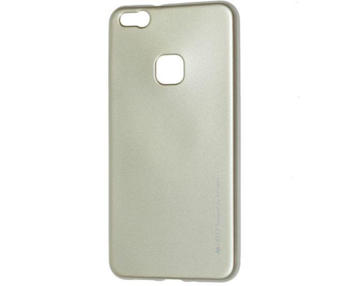 Mercury i-Jelly Slim Fit Case Θήκη Σιλικόνης Gold (Huawei P10 Lite)